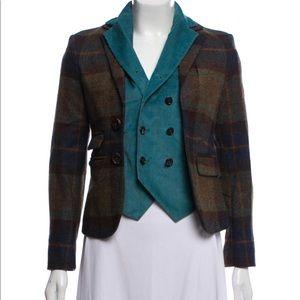 Dsquared2 Virgin wool notch-lapel blazer